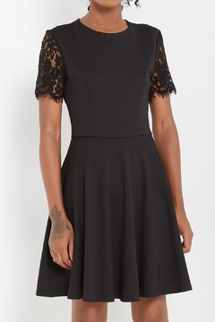Shoptiques Product: Lace-Back Fit-And Flare