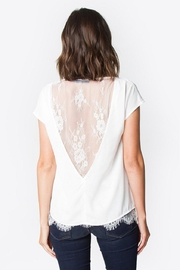 Sugar Lips Lace Back Top - Back cropped
