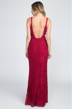 Minuet Lace Backless Gown - Alternate List Image
