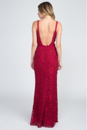 Minuet Lace Backless Gown - Back cropped