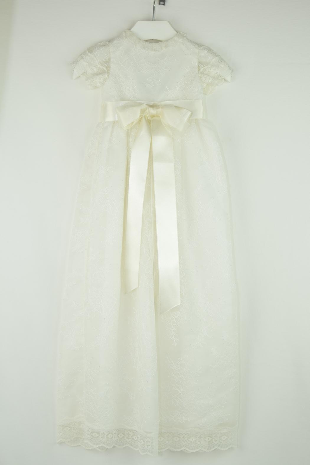 Maria D'Ocon Lace Baptism Gown - Main Image