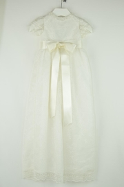 Maria D'Ocon Lace Baptism Gown - Front cropped