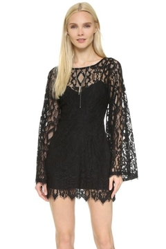 Shoptiques Product: Lace Bell-Sleeve Dress