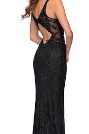 La femme Lace Bodice Gown - Front full body