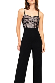 Aidan by Aidan Mattox Lace Bodice Jumpsuit - Product Mini Image