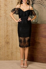 Main Strip Lace Bodycon Dress - Product Mini Image