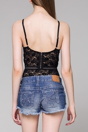 Wild Honey Lace Bodysuit - Front full body