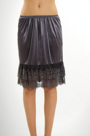 Melody Lace Bottom Slip Skirt - Product Mini Image