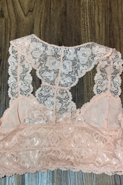 Anemone Lace Bralette - Front full body