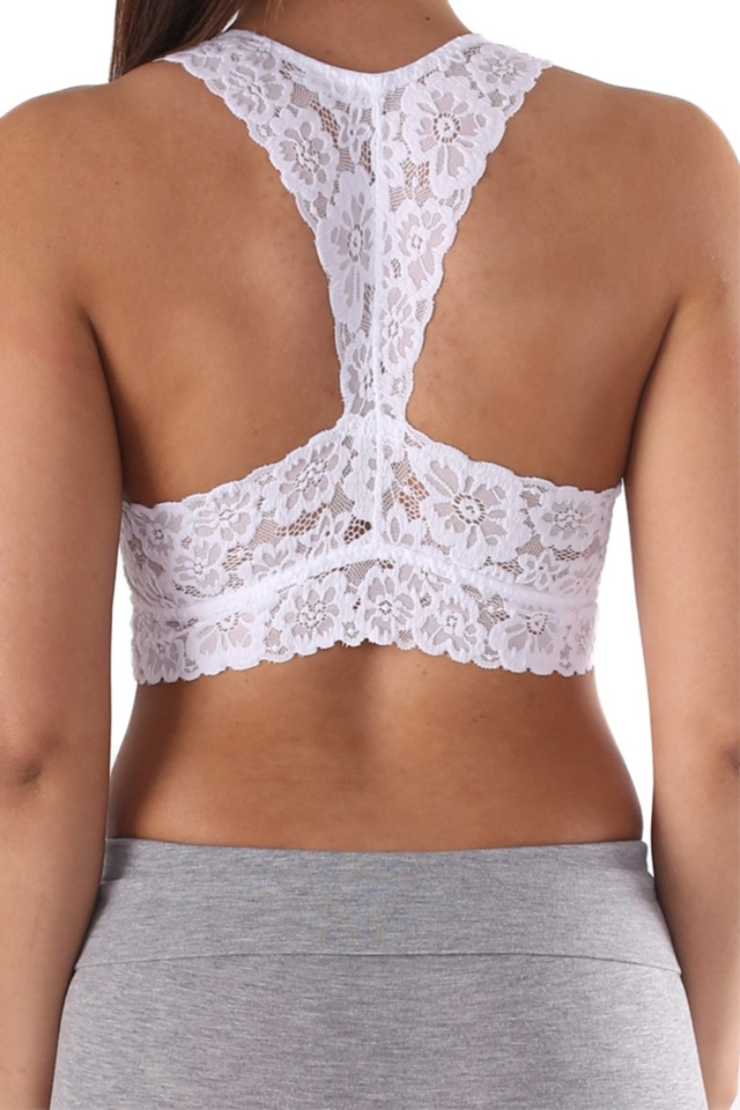 Lyn-Maree's  Lace Bralette - Front Full Image