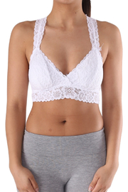 Lyn-Maree's  Lace Bralette - Front cropped