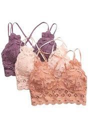Anemone Lace Bralette - Product Mini Image