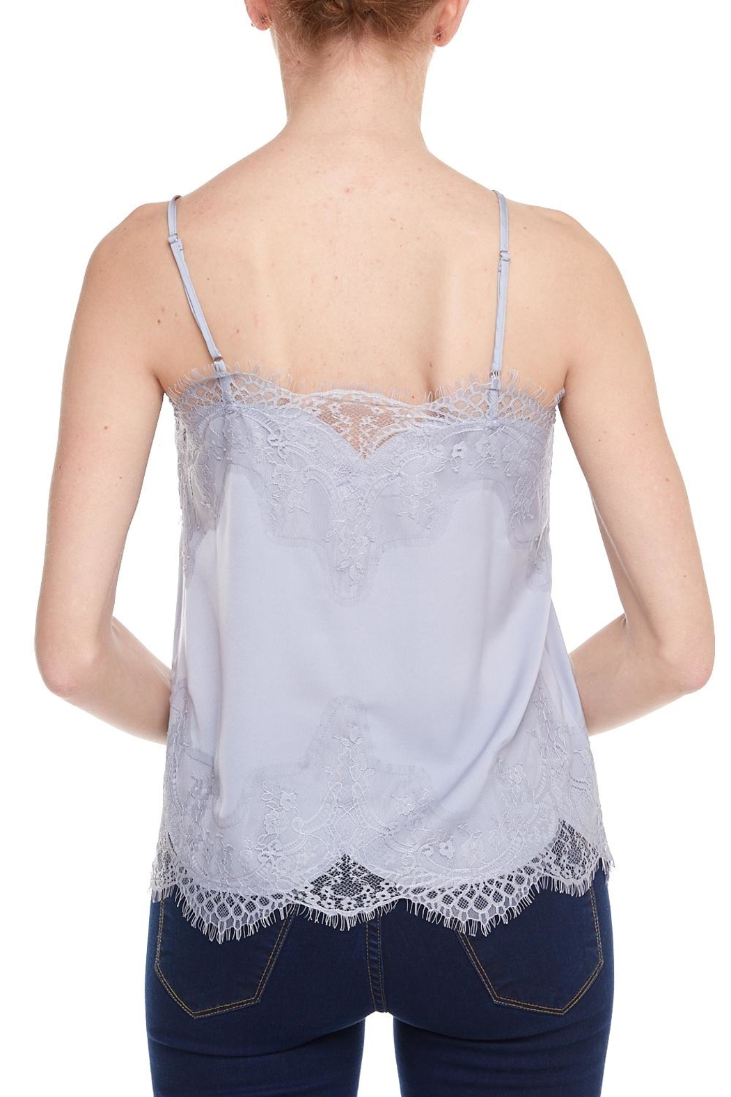 storia Lace Cami - Back Cropped Image