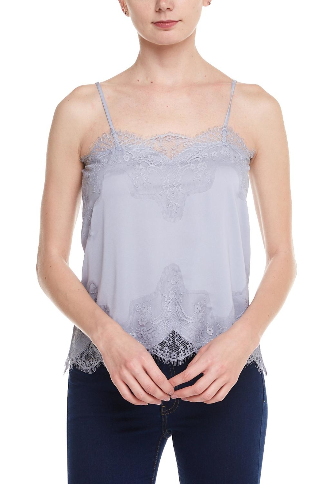 storia Lace Cami - Front Cropped Image