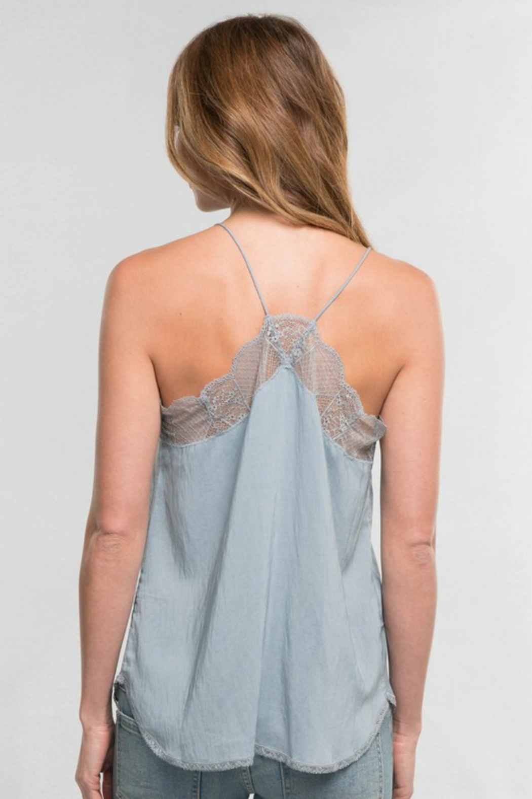 Lovestitch  LACE CAMI - Front Full Image