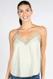 Lovestitch  LACE CAMI - Front cropped