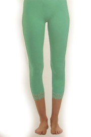 Charlie Paige Lace Capri Legging - Product Mini Image