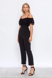 Jealous Tomato Lace Contrast Jumpsuit - Product Mini Image