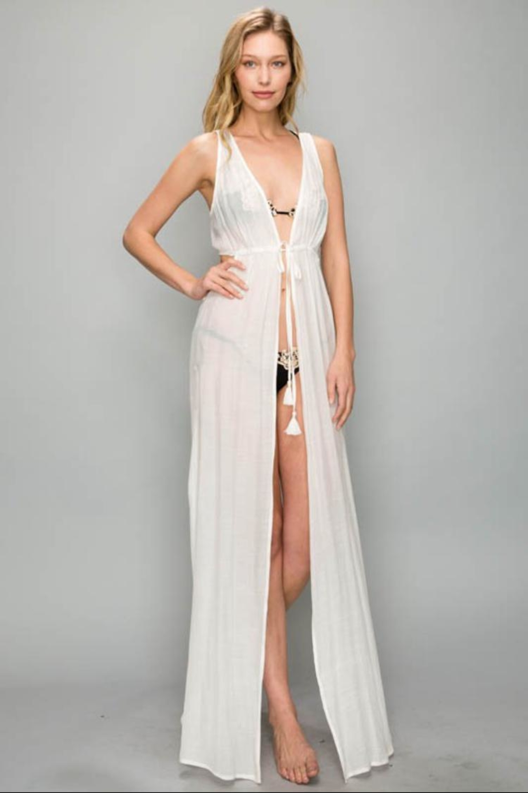 AAKAA Lace Cover-Up Dress - Main Image