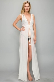 AAKAA Lace Cover-Up Dress - Front cropped