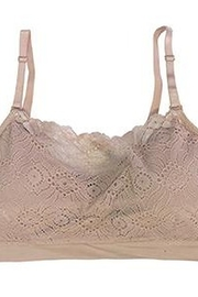 Coobie Lace coverage bralette - Front cropped