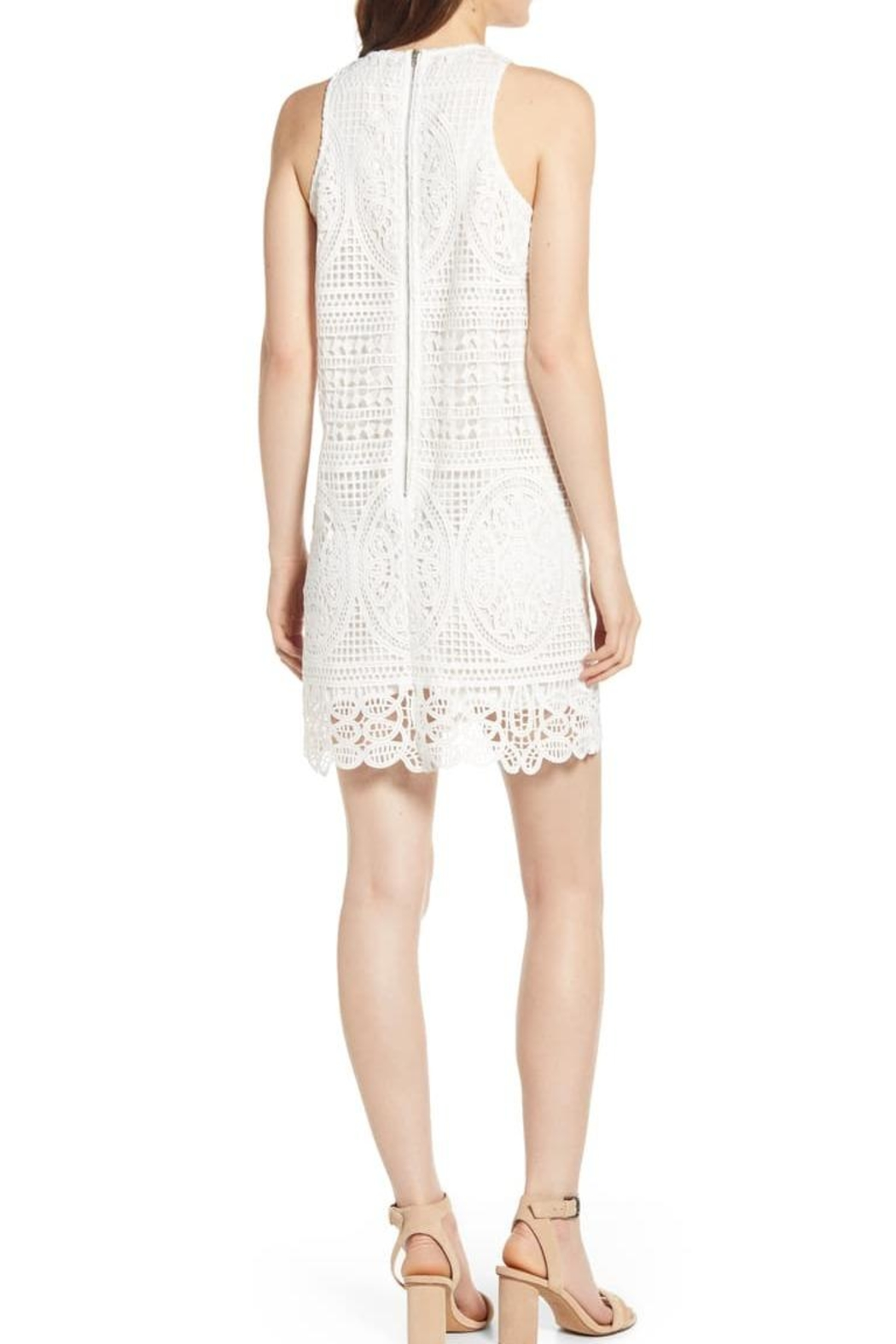 Bishop + Young Lace Crochet Dress - Front Full Image