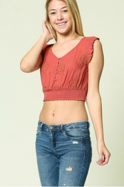 Illa Illa Lace Crop Top - Product Mini Image