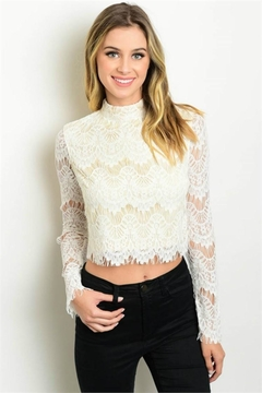 Humanity Lace Crop Top - Product List Image