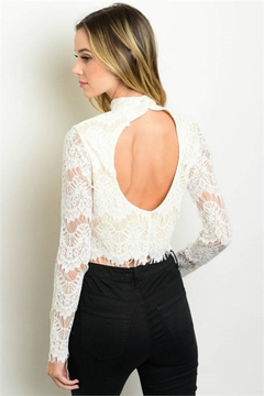 Humanity Lace Crop Top - Alternate List Image
