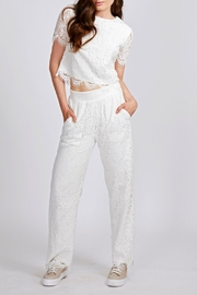 Dry Lake Lace Crop Top - Product Mini Image