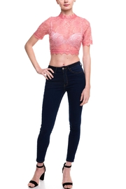 Love Song Lace Crop Top - Side cropped