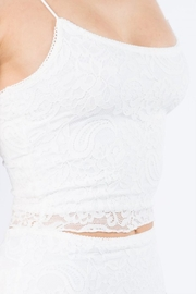 Bear Dance Lace Crop Top - Front full body