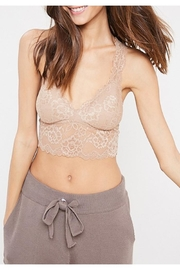 Wishlist Lace Cut-Out Bralette - Front full body
