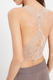 Wishlist Lace Cut-Out Bralette - Back cropped