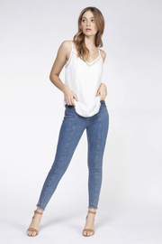 Dex Lace Detail Cami - Front cropped