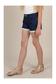 Mini Molly Lace Detail Shorts - Side cropped