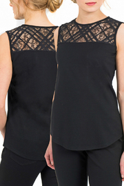 Coco Y Club Lace Detail Tank - Product Mini Image
