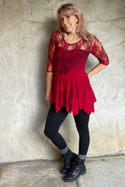 Apparel Love Lace Detail Tunic - Front cropped