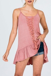 CY Fashion Lace Detail Tunic-Top - Product Mini Image