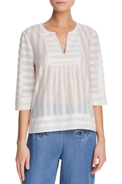 Ella Moss Lace-Detailed Blouse - Product List Image