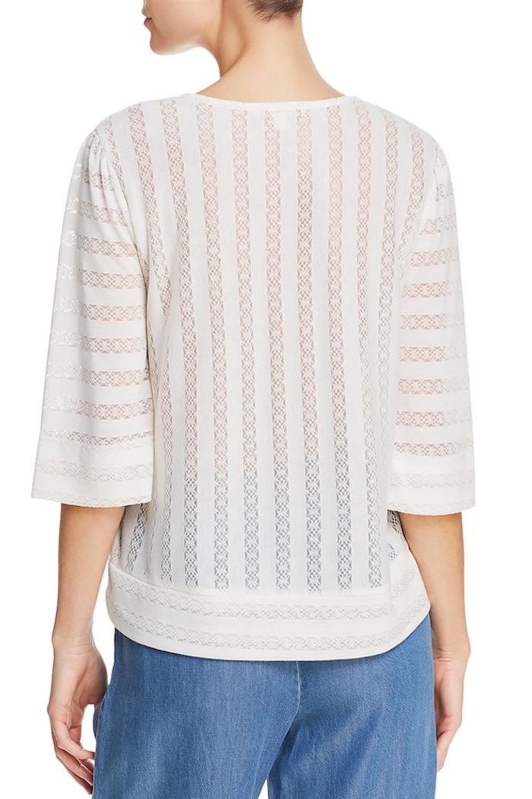 Ella Moss Lace-Detailed Blouse - Front Full Image