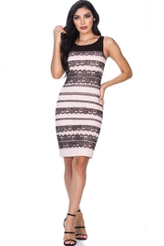 Leshop Lace Detailed Bodycon - Product Mini Image