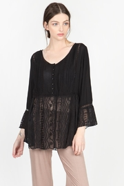 Monoreno Lace Detailed Shirt - Product Mini Image