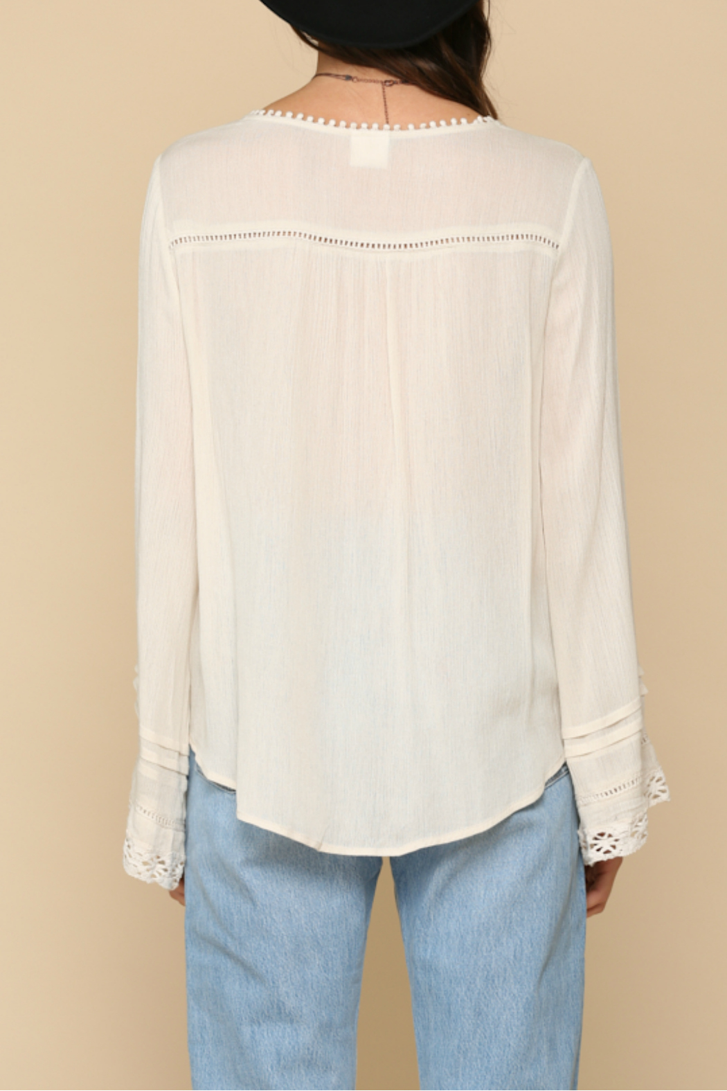 By Together  lace detailed Top - Side Cropped Image