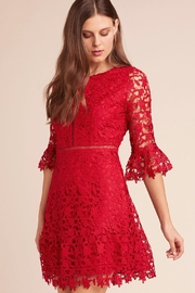 BB Dakota Scarlet Lace Dress - Product Mini Image