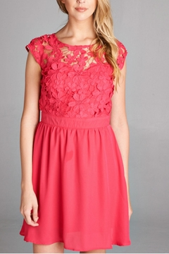 Rosette Lace Dress - Alternate List Image