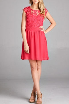Rosette Lace Dress - Product List Image