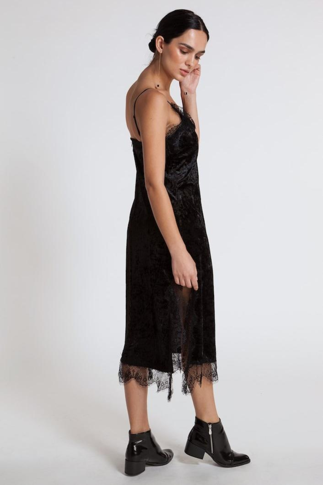 CISTAR Lace Dress - Side Cropped Image