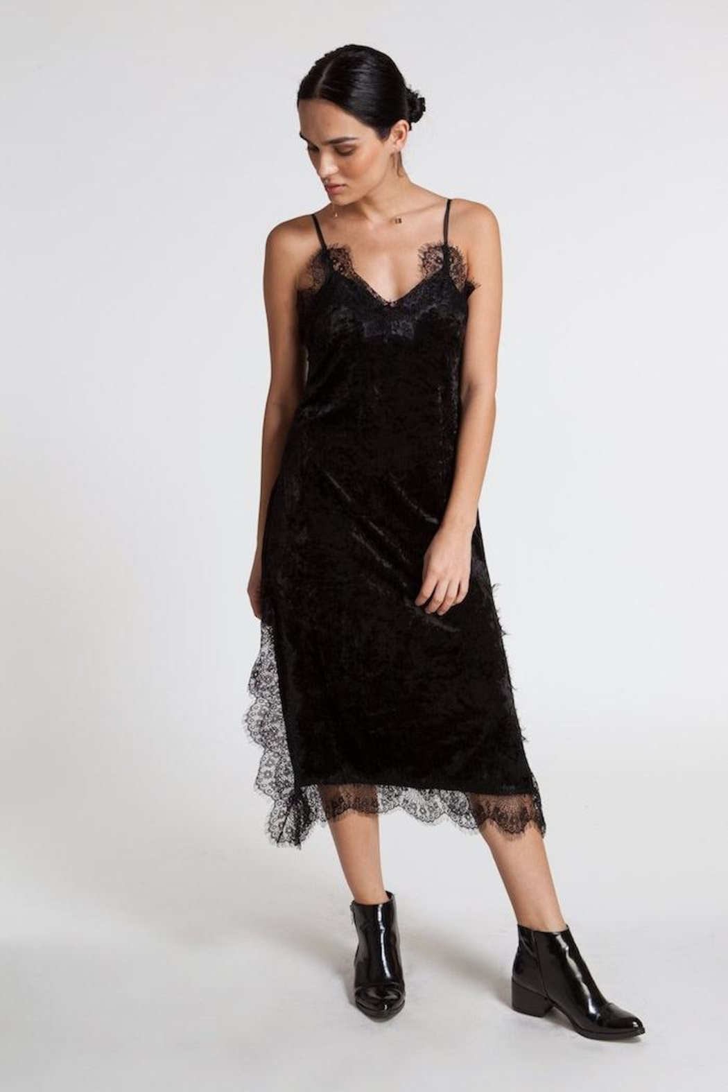 CISTAR Lace Dress - Front Full Image