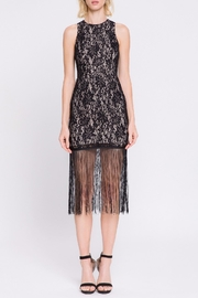 Endless Rose Lace-Dress With Fringe - Product Mini Image